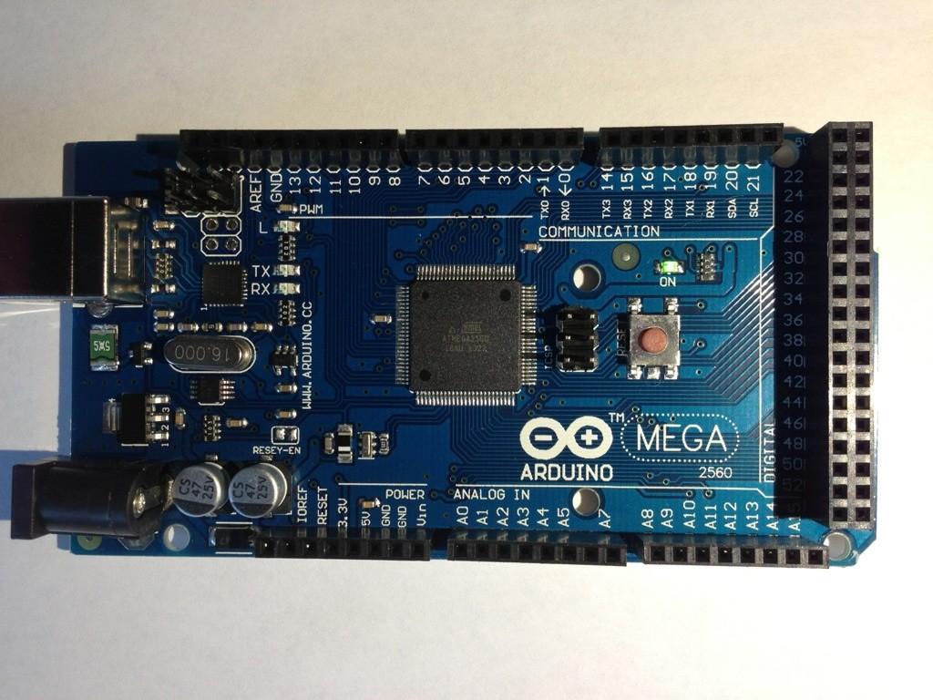 Der Arduino Mega 2560
