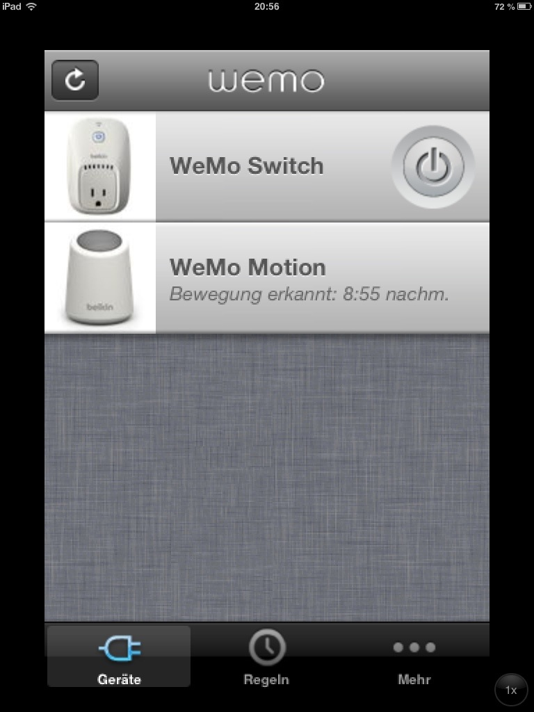 WeMo Switch und Motion