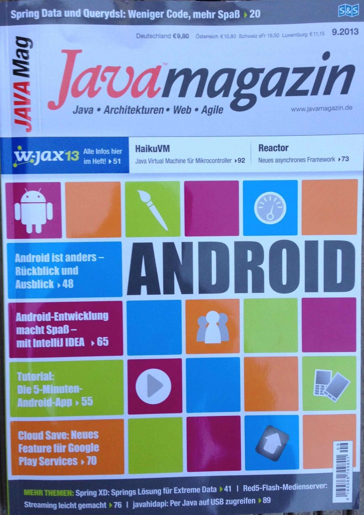 Java Magazin 9 2013