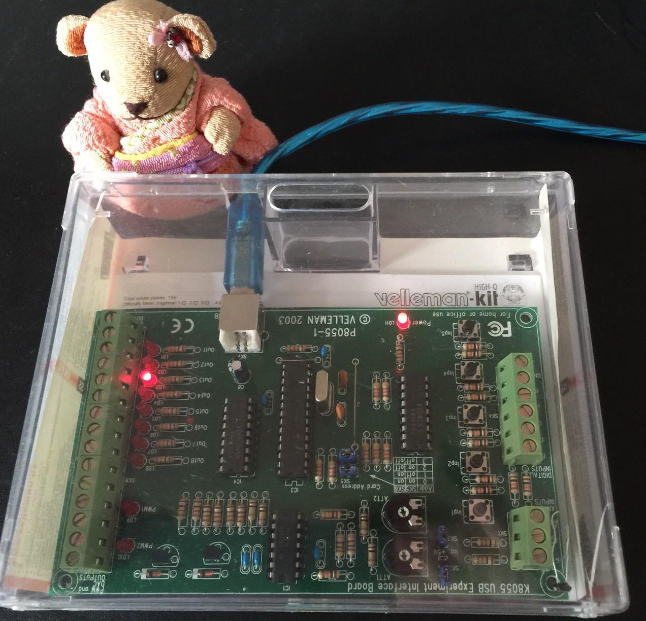 K8055 für den Raspberry Pi via Kali