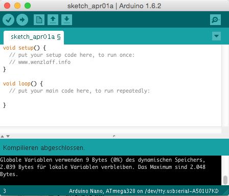 Arduino IDE 1.6.2