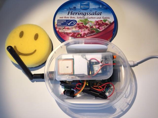 Raspberry Pi Gehäuse Aufbau