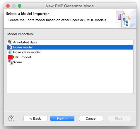 EMF Generator Model erzeuge