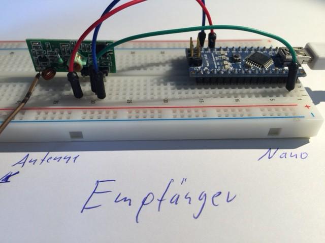 Arduino Empfänger