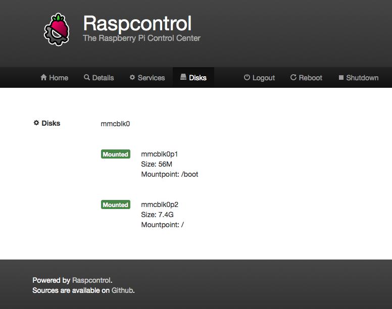 Raspcontrol Foto