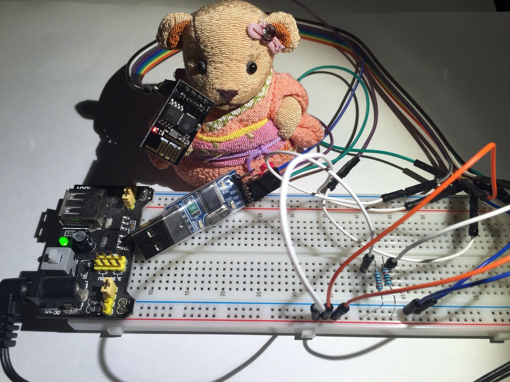 USB to Serial ESP8266