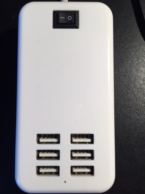 6 x USB 30 Watt