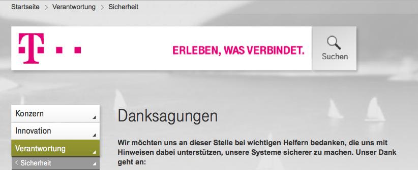 Telekom Dank