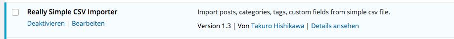 csv blog import