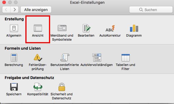 Excel 2016 Mac OS X: Wie werden die Entwicklertools angezeigt ...