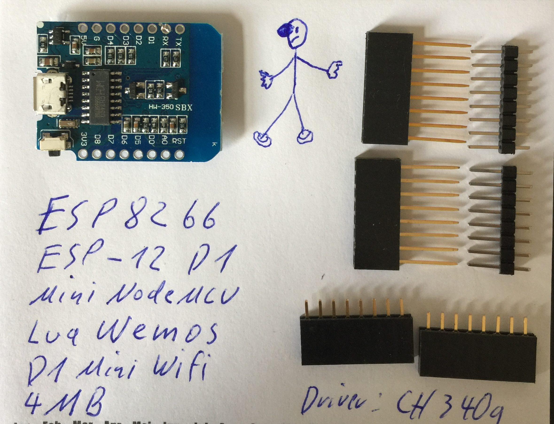 Wemo D1 ESP8266