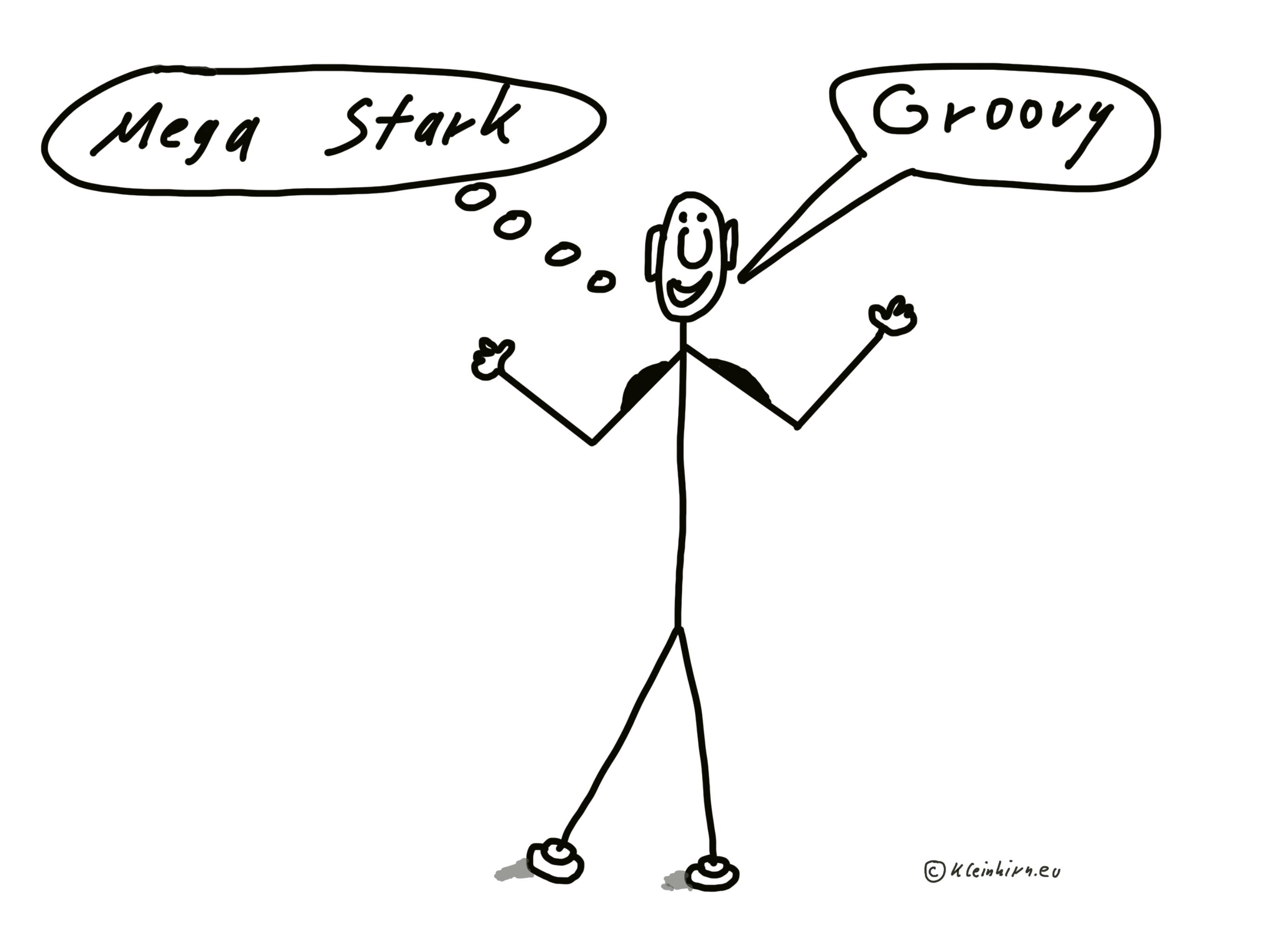 Groovy - Mega - Stark