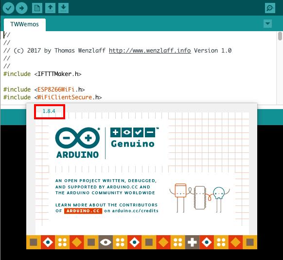 Arduino IDE 1.8.4