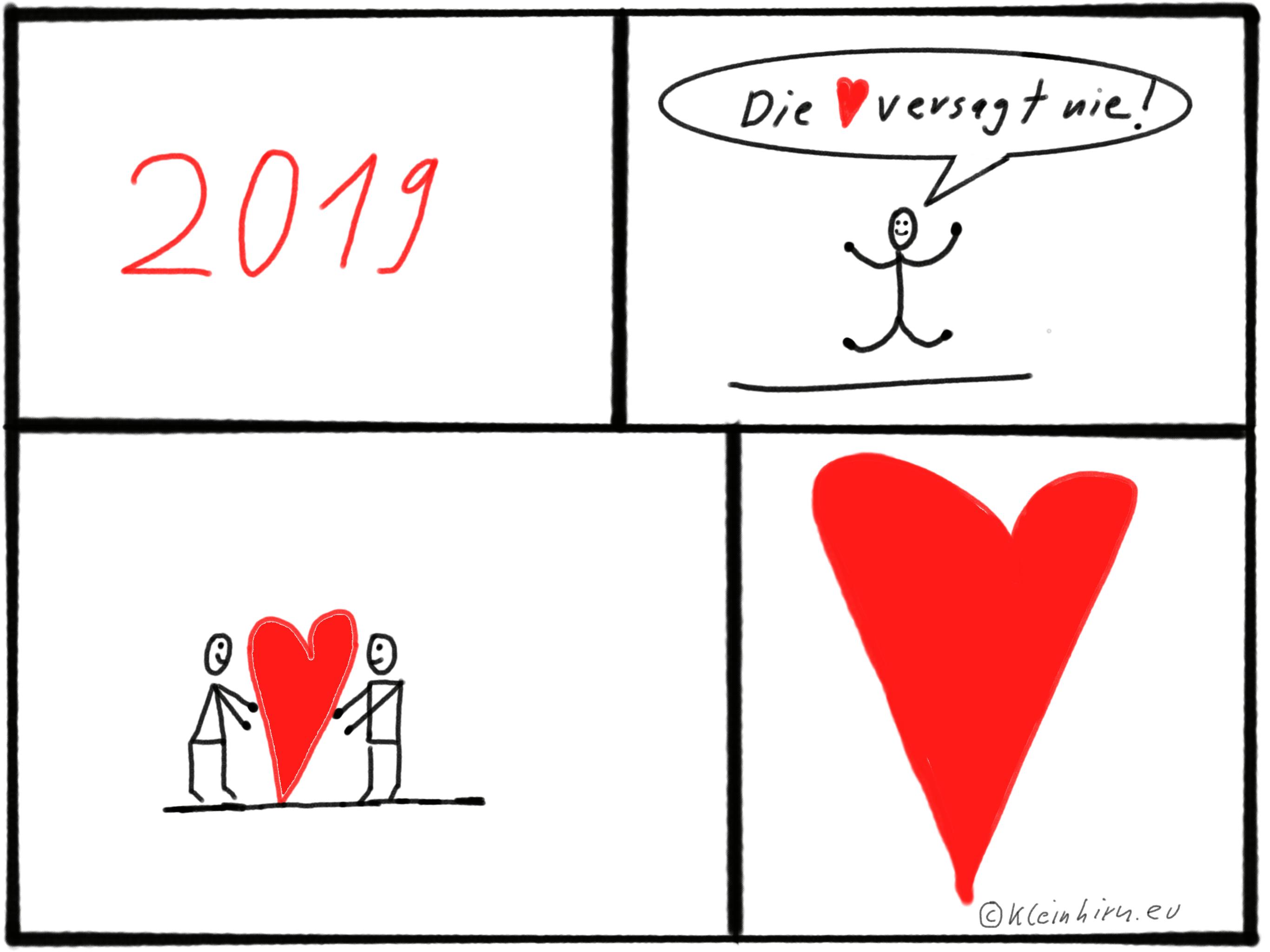Die Liebe versagt nie